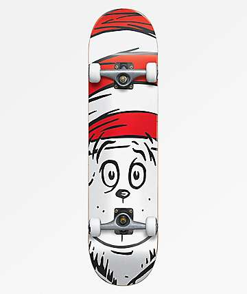 "Almost x Dr. Seuss Big Face 8.0"" Skateboard Complete"