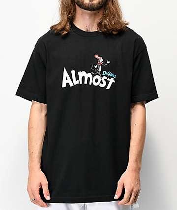 Almost x Dr. Seuss Black T-Shirt