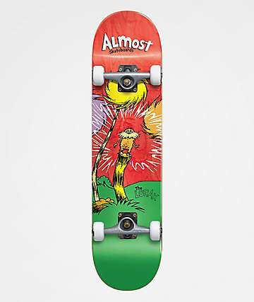 "Almost x Dr. Seuss Lorax 8.0"" Skateboard Complete"