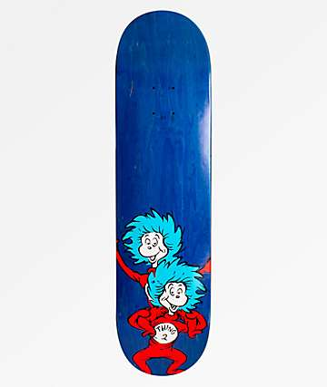 """Almost x Dr. Seuss Thing Stacked 8.0"""" Skateboard Deck"""