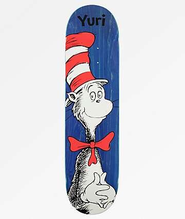 """Almost x Dr. Seuss Yuri R7 8.0"""" Skateboard Deck"""