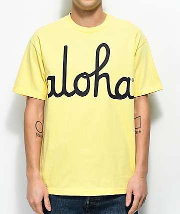 Aloha Army Aloha Banana camiseta amarilla