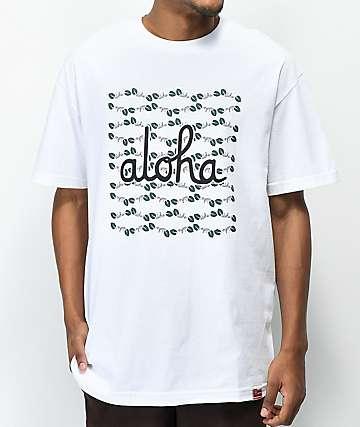 Aloha Army Kalucci White T-Shirt