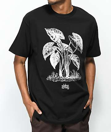 Aloha Army Life Black T-Shirt