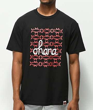 Aloha Army Ohana Black T-Shirt