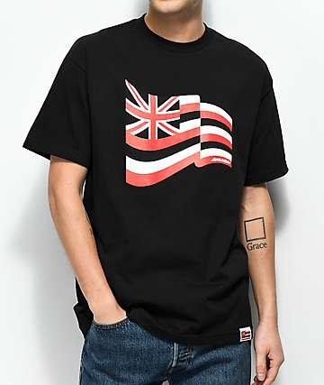 Aloha Army Pride Fly Black T-Shirt