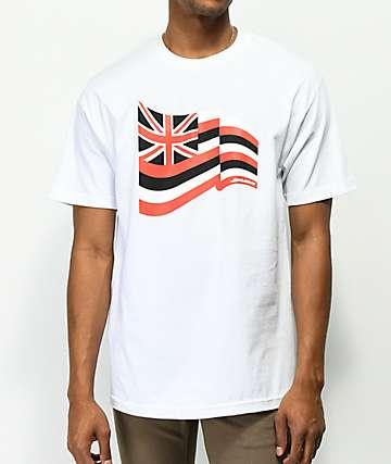 Aloha Army Pride Fly White T-Shirt