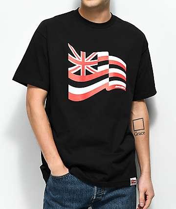 Aloha Army Pride Fly camiseta negra