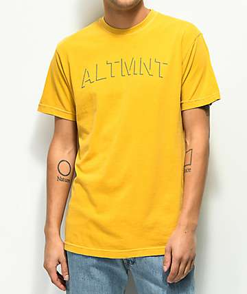 Altamont Faint Corp Yellow T-Shirt