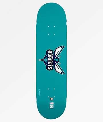 """Aluminati Charlotte Hornets 8.25"""" Skateboard Deck"""