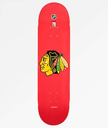 "Aluminati Chicago Blackhawks 8.25"" Skateboard Deck"