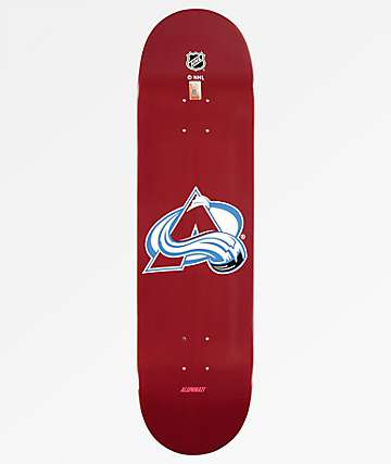 "Aluminati Colorado Avalanche 8.25"" Skateboard Deck"