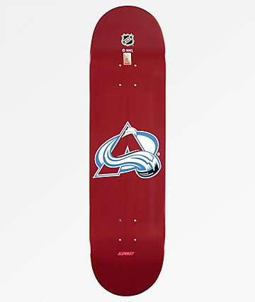 "Aluminati Colorado Avalanche 8.25"" Skateboard Deck"
