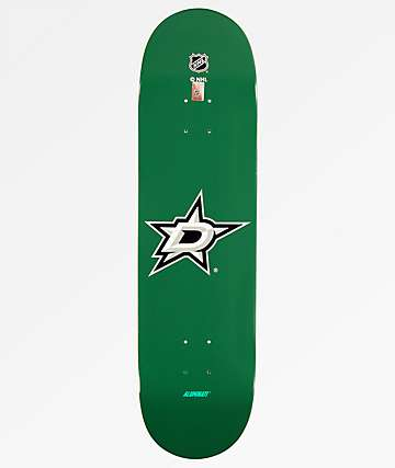 "Aluminati Dallas Stars 8.25"" Skateboard Deck"