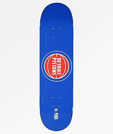 "Aluminati Detroit Pistons 8.25"" Skateboard Deck"