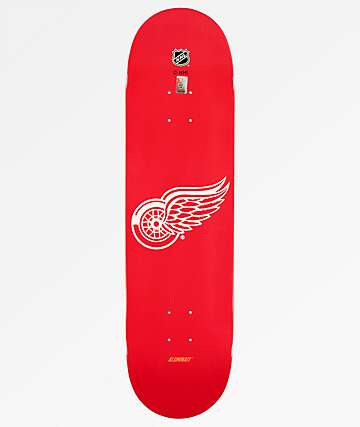 "Aluminati Detroit Red Wings 8.25"" Skateboard Deck"