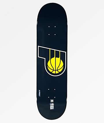 "Aluminati Indiana Pacers 8.25"" Skateboard Deck"