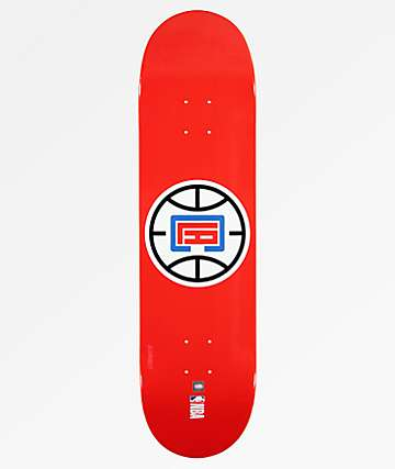 "Aluminati LA Clippers 8.25"" Skateboard Deck"