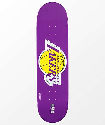 "Aluminati LA Lakers 8.25"" Skateboard Deck"