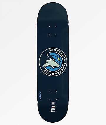 "Aluminati Minnesota Timberwolves 8.25"" Skateboard Deck"
