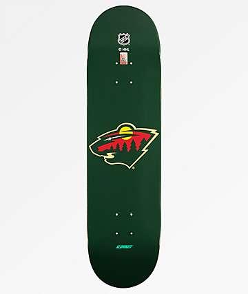 "Aluminati Minnesota Wild 8.25"" Skateboard Deck"