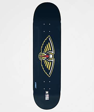 "Aluminati New Orleans Pelicans 8.25"" Skateboard Deck"