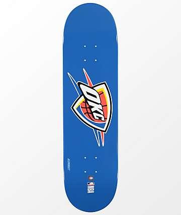 "Aluminati OKC Thunder 8.25"" Skateboard Deck"