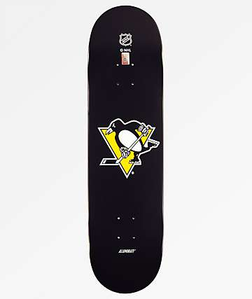 "Aluminati Pittsburgh Penguins 8.25"" Skateboard Deck"