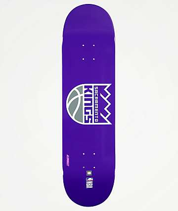"Aluminati Sacramento Kings 8.25"" Skateboard Deck"