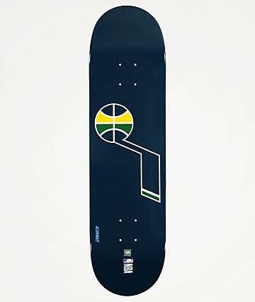 "Aluminati Utah Jazz 8.25"" Skateboard Deck"