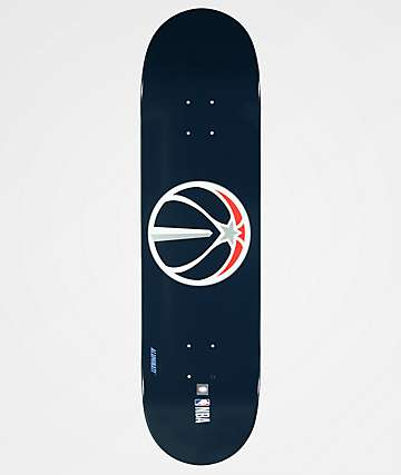 "Aluminati Washington Wizards 8.25"" Skateboard Deck"