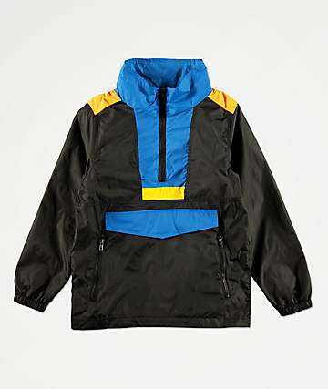 American Stitch Boys Color Block Anorak Windbreaker Jacket