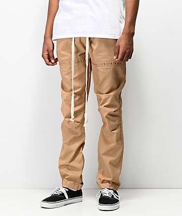 American Stitch Utility Khaki Twill Jogger Pants