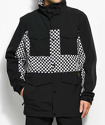 Analog Tollgate 10K chaqueta de snowboard negra