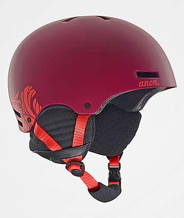 Anon Greta Purple Womens Snowboard Helmet