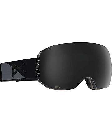 Anon M2 Fragment Dark Smoke máscara de snowboard