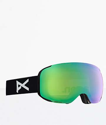 Anon M2 MFI Black SONAR Green gafas de snowboard infrarrojas