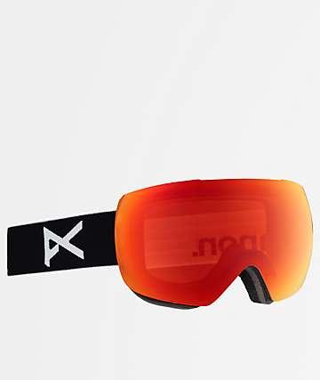 Anon Mig Black Sonar Infrared Snowboard Goggles