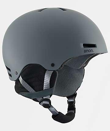 Anon Raider Grey Snowboard & Skateboard Helmet