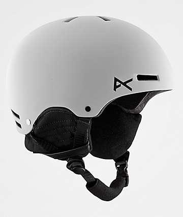 Anon Raider casco de snowboard en blanco