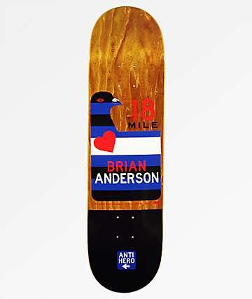 "Anti Hero Anderson Scenic Drive 8.28"" Skateboard Deck"