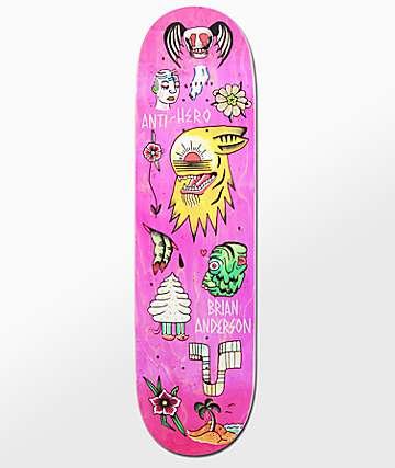 """Anti-Hero BA A Grape Dope 8.5"""" Skateboard Deck"""
