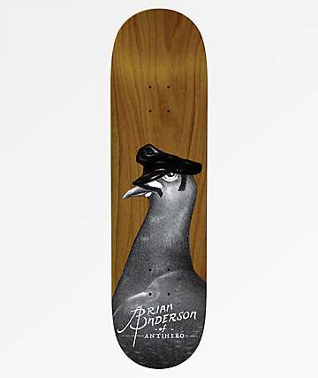 "Anti-Hero BA Feather Daddy 8.5"" Skateboard Deck"