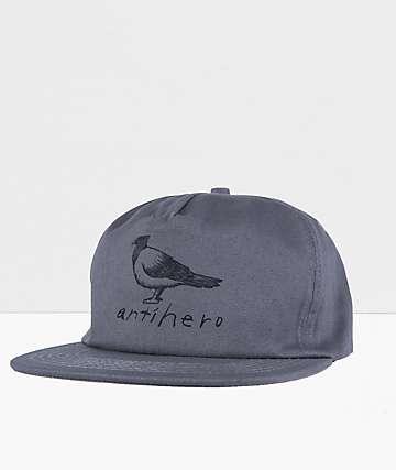 Anti-Hero Basic Pigeon Grey Snapback Hat