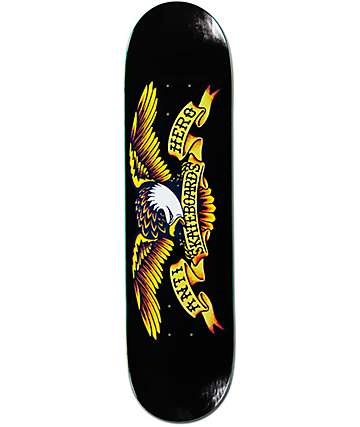 "Anti Hero Classic Eagle Logo 8.12""  Skateboard Deck"