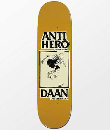 """Anti-Hero Daan Lance Mountain 8.25"""" Skateboard Deck"""