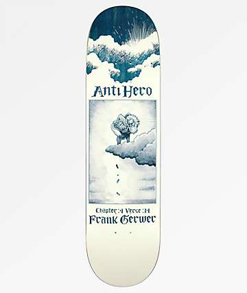 "Anti Hero Gerwer Book Of Anti Hero 8.25"" Skateboard Deck"