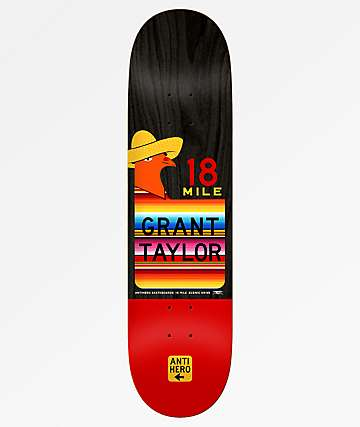 """Anti-Hero Grant Taylor Scenic Drive 8.5"""" Skateboard Deck"""