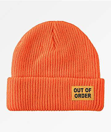 Anti-Hero Out Of Order Orange Beanie