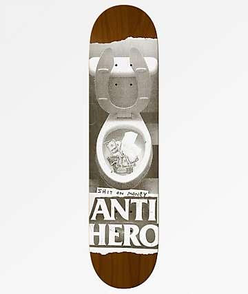 "Anti-Hero Shit On Money 8.5"" Skateboard Deck"